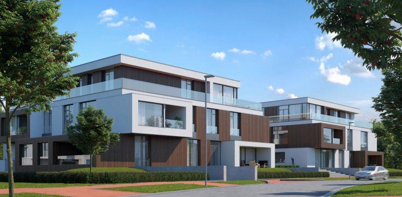 Projektā Mežaparka Rezidences, ieguldot 11 miljonus eiro, uzsākta dzīvokļu, rindu māju būvniecība